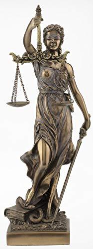 PALAZZO INT Justitia mit Schwert und Waage Veronese Design WU71832A4 33 cm
