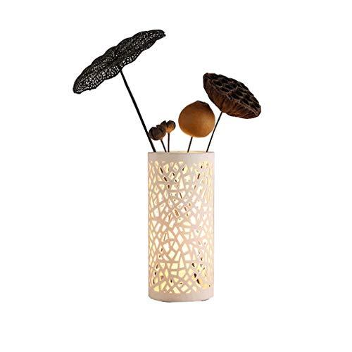 J+N JN Creatieve tafellamp, keuken, slaapkamer, bedlampje, eenvoudig modern glas, romantische warme knopen grote tafellamp
