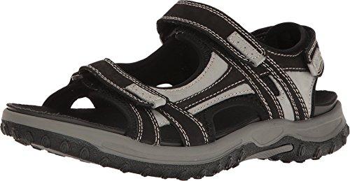 Drew Warren - Men's Orthopedic Sandals Blk/Gry CMB - 11 Medium