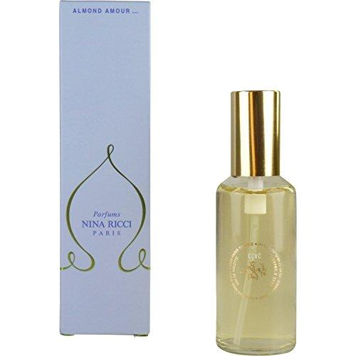 Les Belles De Ricci Almond Amour De Nina Ricci Para Mujeres Eau De Toilette Vaporizador 1.7 Oz / 50 Ml Recambio