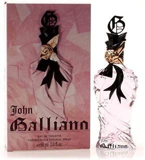 JOHN GALLIANO Eau De Toilette Spray for Women, 2 Ounce by John Galliano