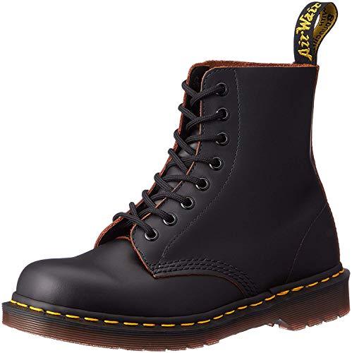 Dr. Martens 1460Z Vintage 8 Eye Boot BLACK Stivaletti, Unisex Adulto, Black, 43