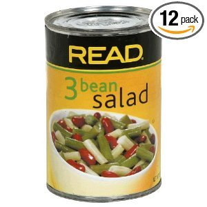 Read 3 Bean Salad Can, 15-Ounce (Pack of 12)