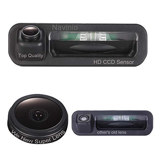 Kalakus Poignée du Coffre Imperméable à l'eau 170 ° Caméra Spécifique au Véhicule Réversible Intégrée dans le Boîtier Poignée Caméra de Marche Arrière pour Ford Escort Focus 2 3 2012 2013 Trunk Handle