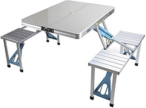 Woodtree Mesa Plegable Portable al Aire Libre de aleación de Aluminio de...