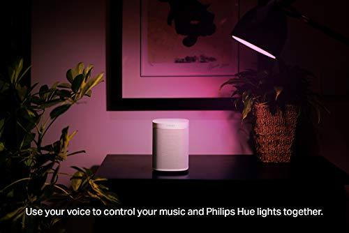 Sonos One (Gen 2) - The powerful Smart Speaker with Alexa built-in, White