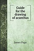Guide for the drawing of acanthus