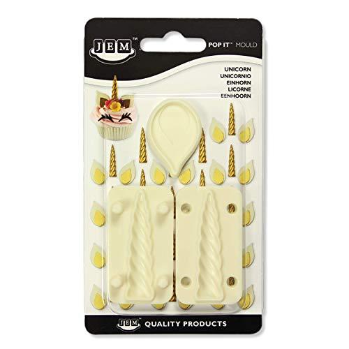 JEM 1102EP0331 Pop It - Molde para cortar, diseño de unicornio