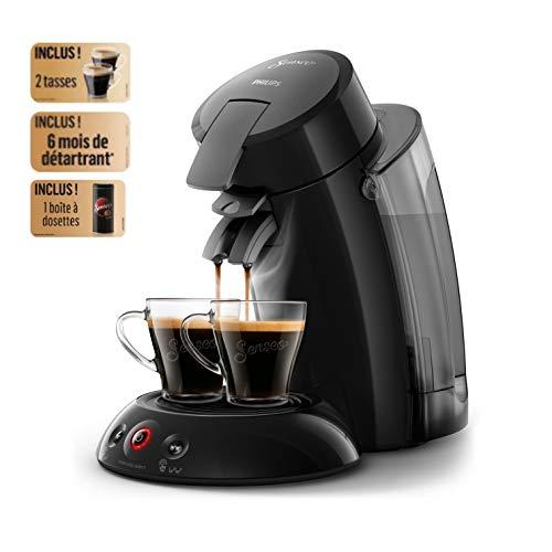 Philips HD6555/23 Senseo Original XL Schwarz Pad-Kaffeemaschine 1.2l 8Tassen Schwarz Kaffeemaschine
