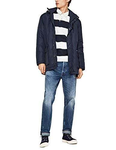 Pepe Jeans Parka Teddy Marino, Blau - blau - Größe: Small