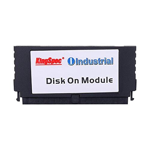 Kingspec SSD-Disk im DOM-Format, 40-polig, PATA, IDE, MLC, On-Module, für Netzwerk- und Spiele-PCs, erhältlich als 2 GB-, 4 GB, 8 GB-, 16 GB- und 32 GB-Variante Schwarz  40PIN 16GB IDE DOM Disk