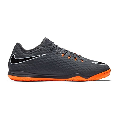 Nike Zoom Hypervenom Phantom X 3 PRO IC AH728, Scarpe da Calcio Unisex-Adulto, Multicolore (Dark Grey/Total Oran 081), 42 EU