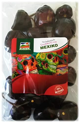 Cascabel Chili ganz (getrocknet 100g)   Capsicum annum   Der authentische Geschmack Mexikos