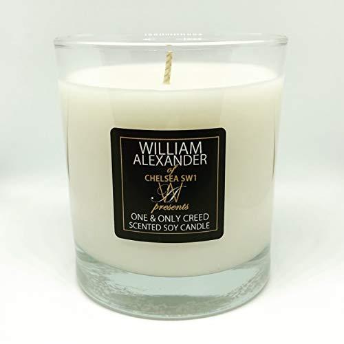 William Alexander Creed Silver Mountain - Vela perfumada en Cera de Soja