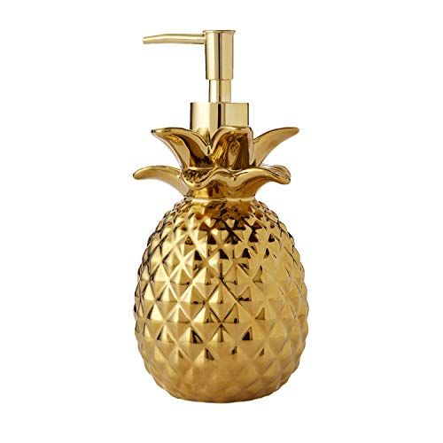 SKL Home by Saturday Knight Ltd. Gilded Ananas Seifenspender, Gold