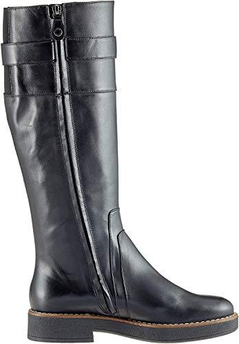 Geox D Adrya A, Botas Altas para Mujer, (Black C9999), 39 EU
