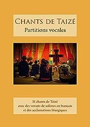 Chants de Taizé : partitions vocales