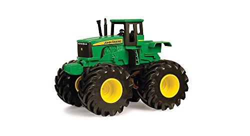 """TOMY Traktor """"John Deere Monster Treads"""" in Grün - Traktor mit Sound und Rüttelfunktion - hochwertiges Spielzeug aus Kunststoff - ab 3 Jahre"""