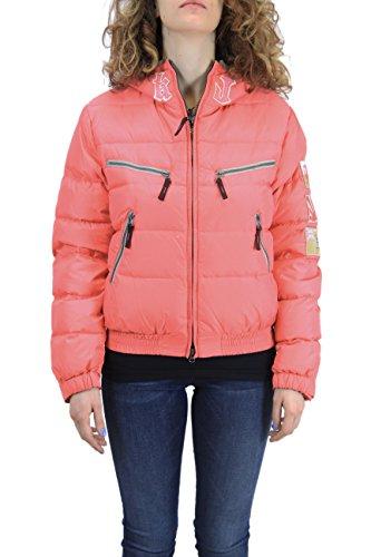 Kejo Damen Daunenjacke Jacke Pink Fuchsia Medium