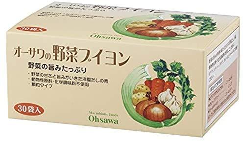 有機家チョイス オーサワの 野菜 ブイヨン 150g(5g×30包入)★ 宅配便 ★植物性素材だけでつくった洋風だしの素・野菜の旨みが凝縮