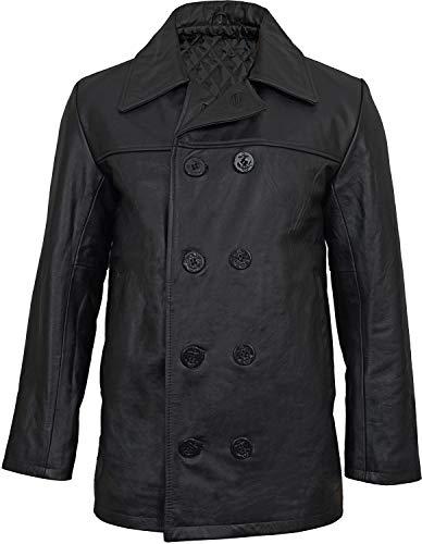 WW2 precisa Negro Perchero de Pared de Acolchada para Silla de Montar Azul Marino de Piel sintética para US de Guisante de Olor