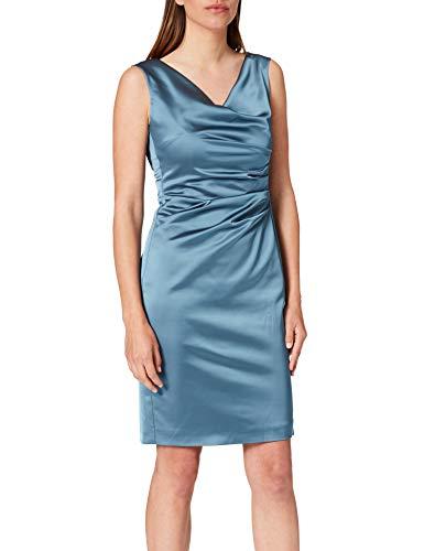 Vera Mont Damen 0058/4822 Cocktailkleid, Blue Dust, 42