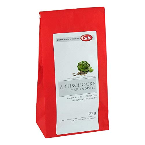 Artischocke Mariendistel Tee Caelo HV-Packung