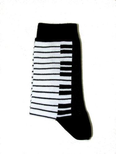 Musik-Socken Tastatur (35/38) – Schönes Geschenk für Musiker - 2