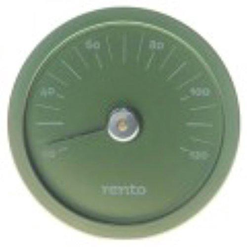 Rento Aluminium Sauna Thermometer Green