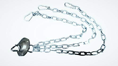 Zimmermann Kettenkit Seilwirbel Kette Schwenkgrill für Rost und Pfanne bis 60 cm