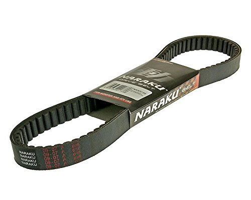 Naraku Courroie pour Kymco MXU 300 (R/V/S Wide), Maxxer 250, Maxxer 300 (Wide MMC)