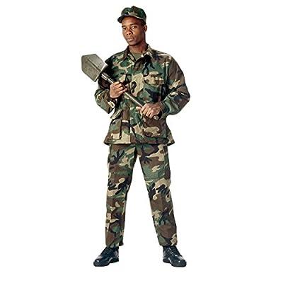 Rothco BDU Uniform Set - Woodland Camo - LRG