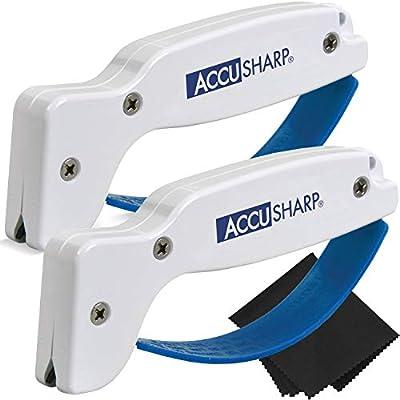 AccuSharp Sharpener (2-Pack with Z-Cloth) Bundle