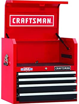 CRAFTSMAN 2000 Series 26-in W x 24.5-in H 4-Drawer Steel Tool Chest