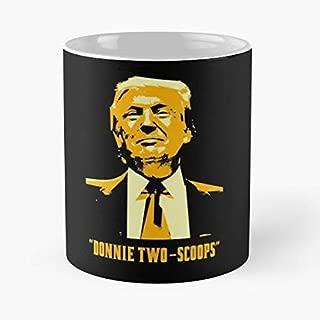 president gets 2 scoops of ice cream