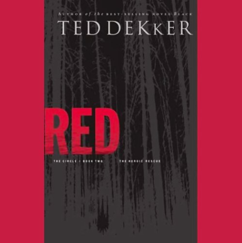 Red audiobook cover art