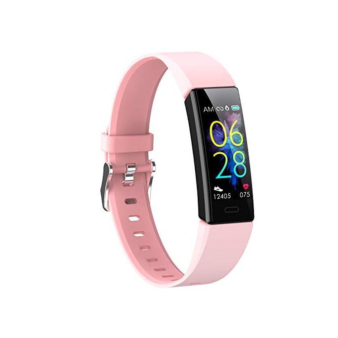 Winisok Fitness Armband mit Blutdruckmessung Pulsmesser,