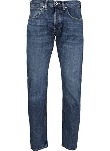 Edwin ED-55 63 Rainbow Selvage Jeans Blue Midori wash