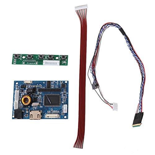 Yoking 1 Set HdMI Lvds, Kartentreiber, Kabelset 40-polig, für Display Raspberry PI 3 LP156WH2/TLA1 TLE1 1366 x 768 7-42 Zoll