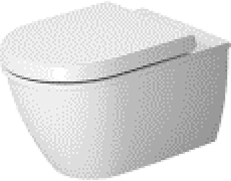 Duravit Wand WC (ohne Deckel) Darling New 540 mm, Tiefspüler, weiss, 2545090000