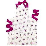 Handmade Pink Rainbow Unicorn Tween Girl Apron Gift for Kitchen Baking or Art