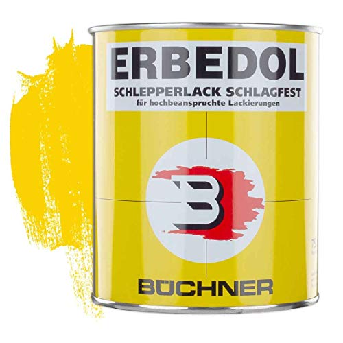 Schlepperlack | VERKEHRSGELB | RAL 1023 | 0,75 l | restaurieren | Traktor | lackieren | Farbe | Trecker | Frontlader | Lack | Lackierung | Farbton | schnelltrocknend | deckend