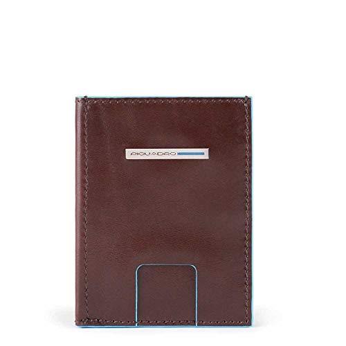 Kreditkartenetui aus Leder mit Fach PU5203B2R Mahagoni
