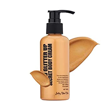 Juicy Skin Care Gold Glitter up secret body lotion - Shimmer body lotion