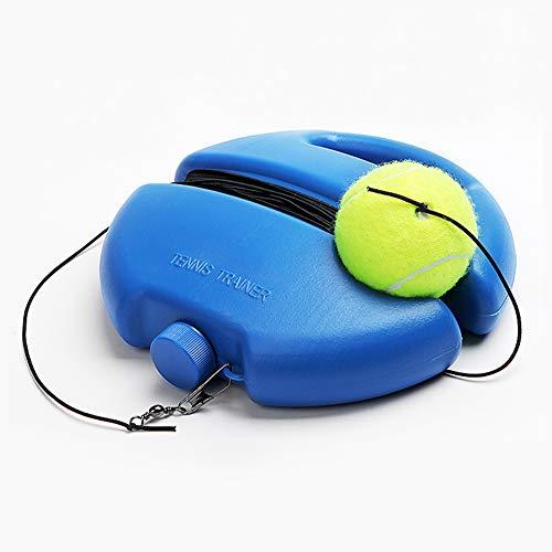 LncBoc Tennis Ball Trainer, Pelota de Rebote de Entrenador de Tenis, Herramienta de Entrenamiento de Tenis para Auto Estudio de Tenis, Baseball de Rebote de Auto Estudio de Pelota