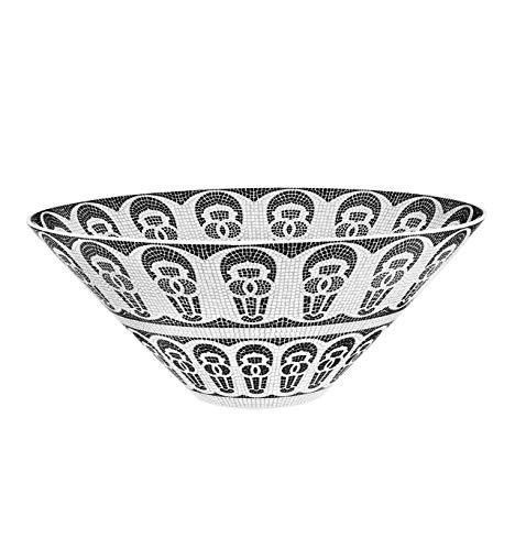Vista Alegre Ensaladera de porcelana portuguesa de adoquines