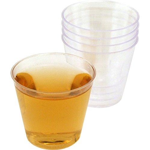 One Ounce Plastic Liquor Shot Cups: Case of 2500