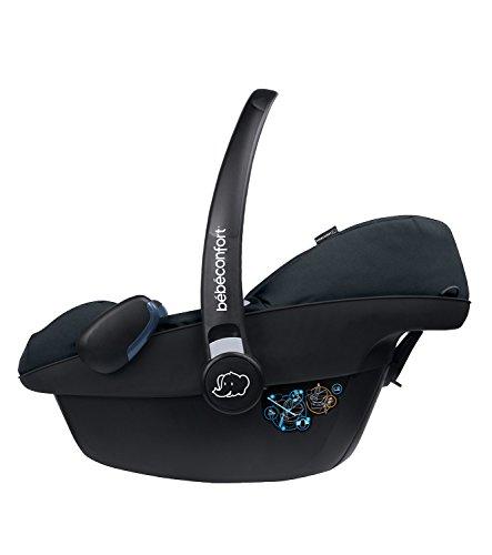 Bébé Confort Pebble, Silla de coche grupo 0+, negro (Black Raven)