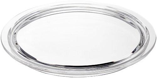 LEONARDO HOME Ciao Torten-Platte, spülmaschinengeeigneter Torten-Teller, Glas-Platte für Torten und Kuchen, Ø 315 mm, 069000