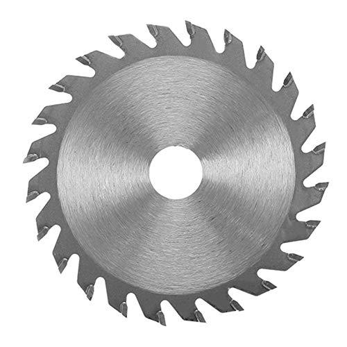 Hoja de sierra circular de aleación TCT de 10 mm/15 mm, 24 dientes, 85 x 1,7 mm, para cortar madera duradera por WEISHAN (tamaño: 15 mm)